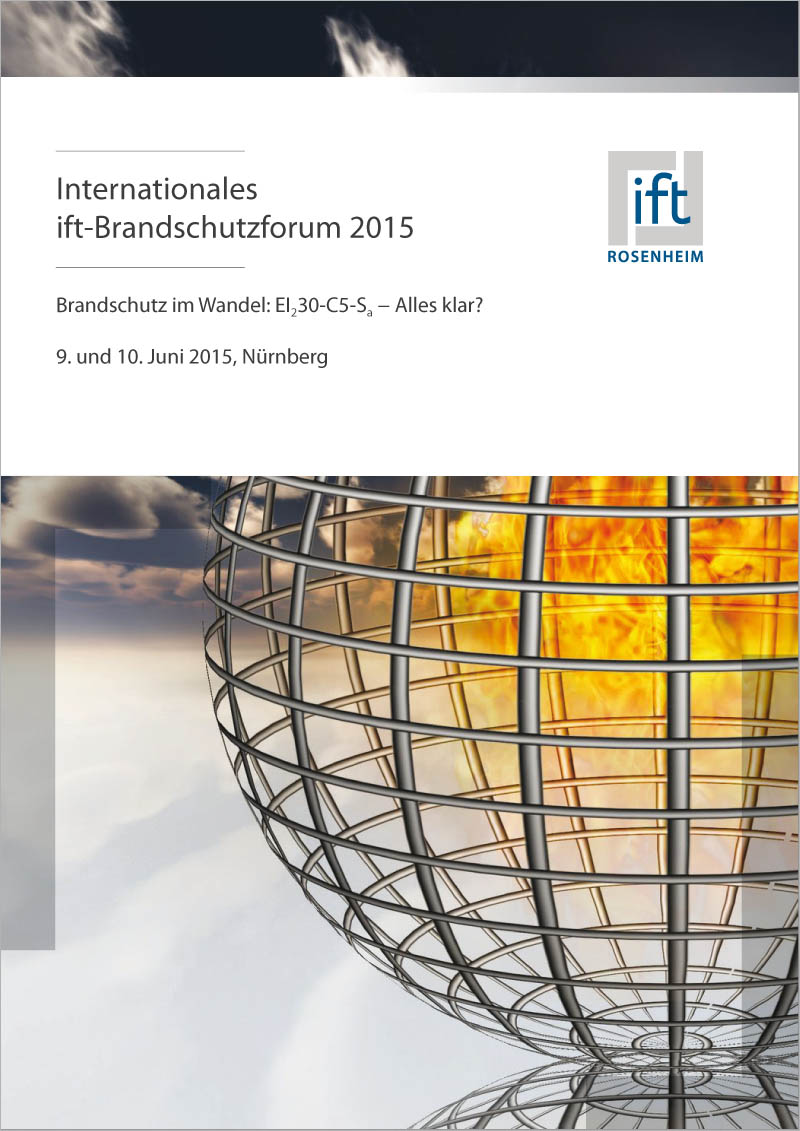 Tagungsband Internationales ift-Brandschutzforum 2015 (Download)