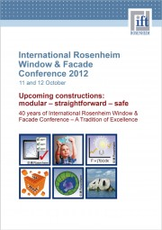 International Window & Facade Conference 2012 (download)