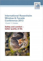 International Window & Facade Conference 2013 (download)