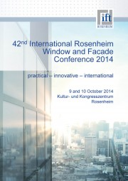 International Rosenheim Window & Facade conference 2014 (download)