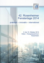 Tagungsband der Rosenheimer Fenstertage 2014 (Download)