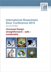 International Rosenheim Door Conference 2012 (printed version)