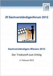 Tagungsband Sachverständigenforum 2012 (Download)