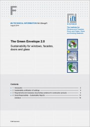 TECHNICAL INFORMATION NA-02engl/3 - Green Envelope 2.0 (printed version)