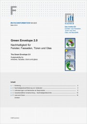 ift-Fachinformation NA-02/3 - Green Envelope 2.0 (Download)
