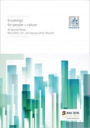 "ift-Documentation: ""Ecodesign for people and nature"" (Print edition)"