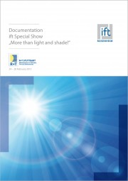 "ift-Documentation ""More than light and shade!"" (Print edition)"
