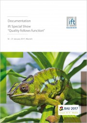 "ift-Documentation ""Quality follows function"" (Print edition with nominal charge)"