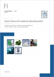 ift-Fachinformation EL-03/1: Smart-Home mit modernen Bauelementen (Download)