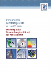 Tagungsband der Rosenheimer Fenstertage 2011 (Download)